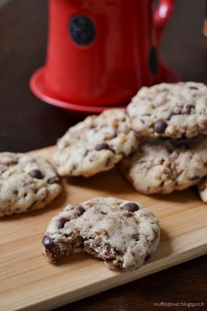 Recette cookies riz soufflé - muffinzlover.blogspot.fr
