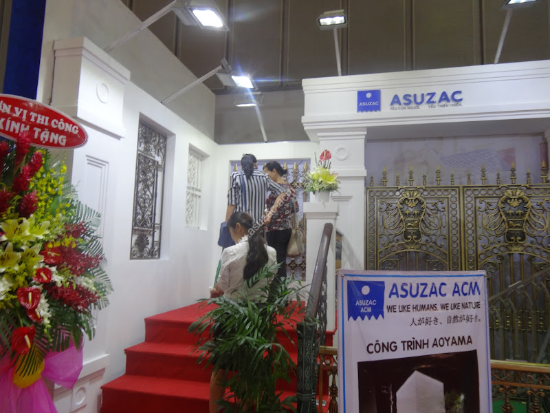 Triển lãm VietBuild ASUZAC ACM2015