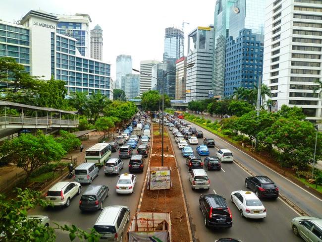 Macet di Jakarta