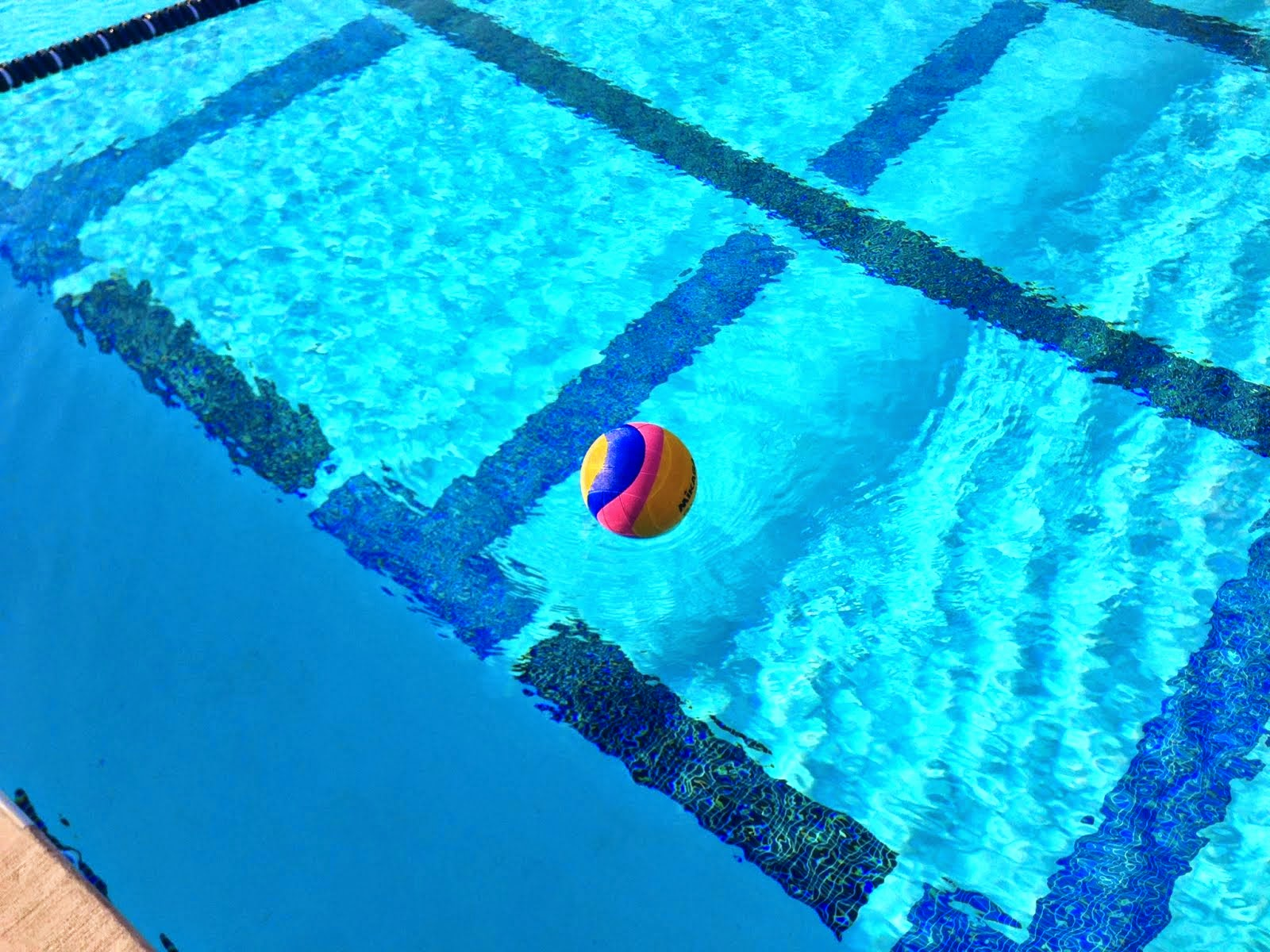 how to catch a water polo ball