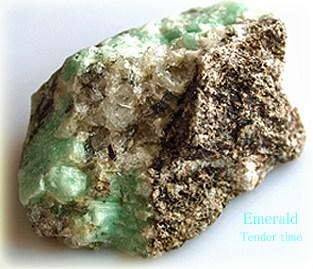 エメラルド原石 Emerald Brazil