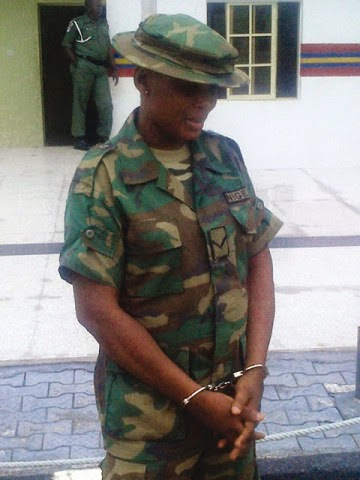 Fake Soldier! Woman's New Boyfriend Exposes Her As A Fake Soldier