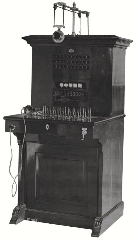 Image: 1907 Central Battery Switchboard BE CB 30/50  Image © BT Heritage released under Creative Commons BY-NC-SA 3.0