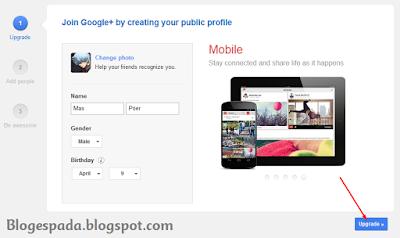 Cara membuat Blog Gratis (Blogspot) di Blogger 2
