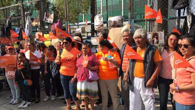 Activistas mexicanos protestan contra política migratoria de Trump