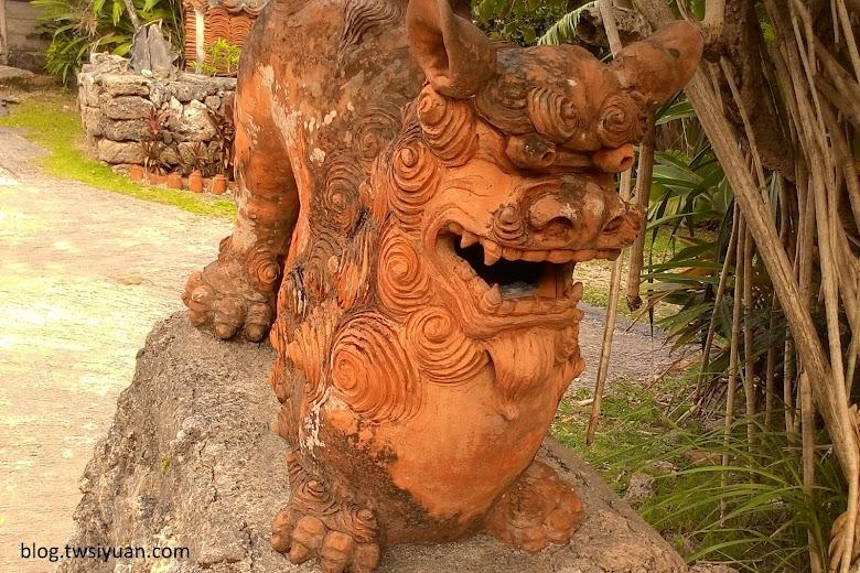 琉球村的風獅爺