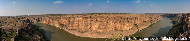 Panorama of Gandikota Grand Canyon of India