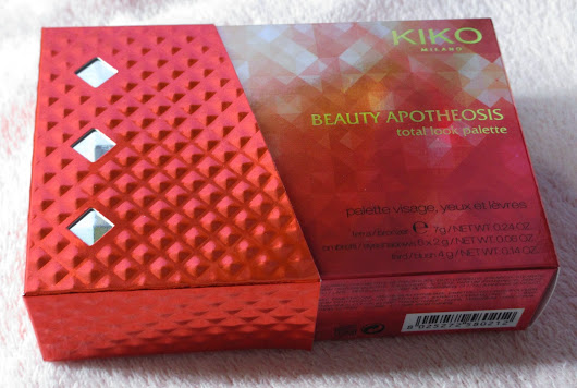 KIKO - BEAUTY APOTHEOSIS TOTAL LOOK Palette NUDES SHADES 01
