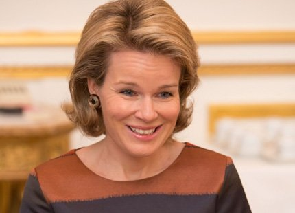 "Princess Mathilde attended a round table meeting on breast cancer in collaboration with the ""Breast International Group"" (BIG)"