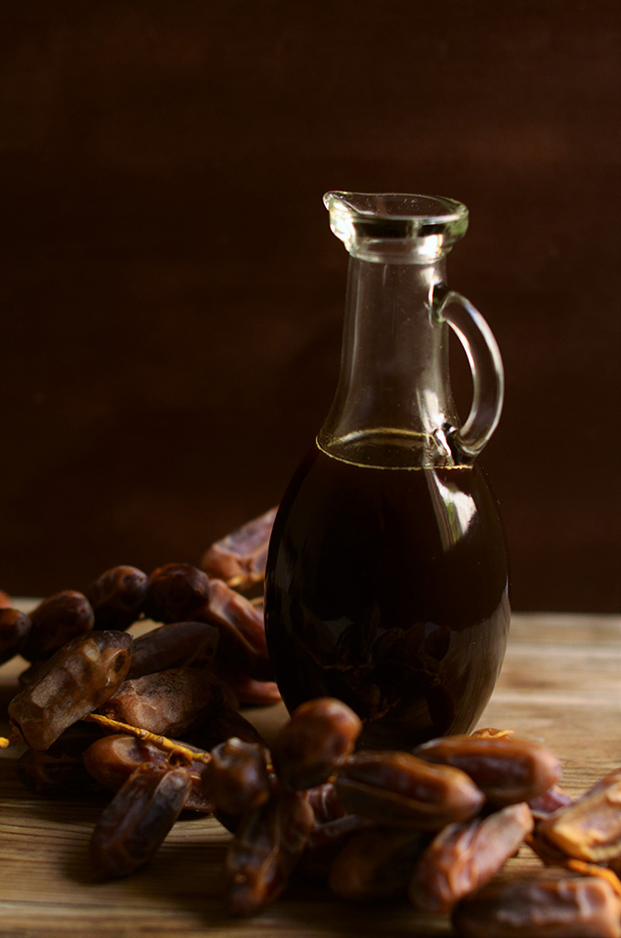 Orange infused date syrup