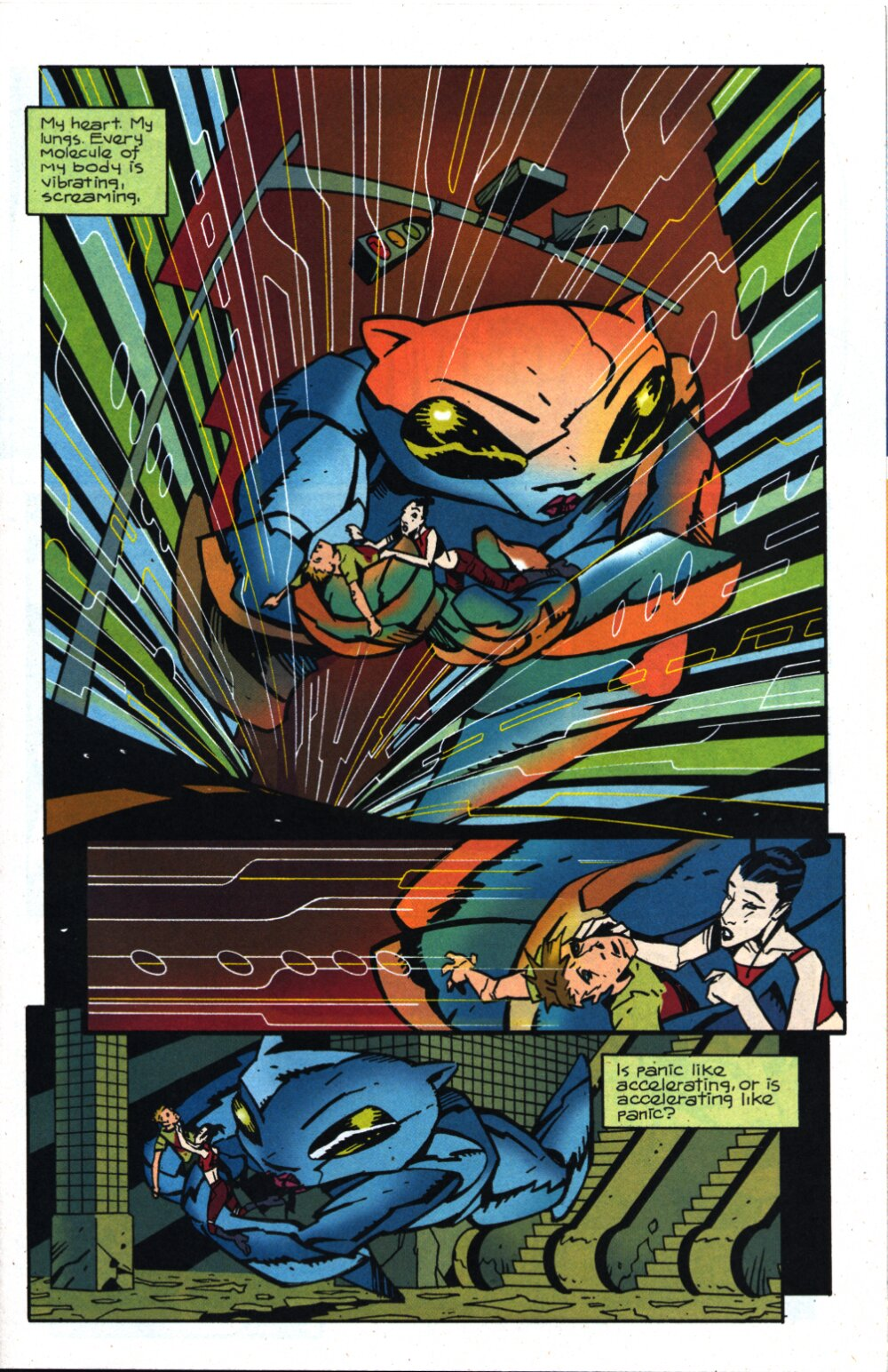Read online Accelerate comic -  Issue #4 - 4
