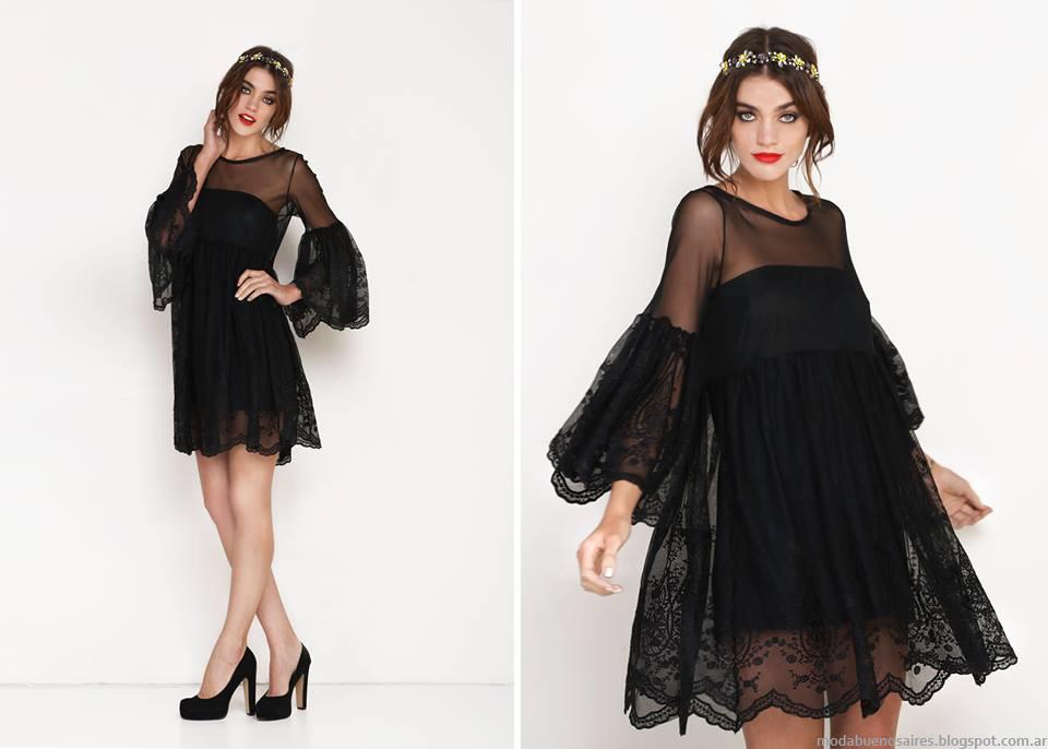3e7f033db7 Los vestidos de fiesta cortos de la colección Otoño Invierno