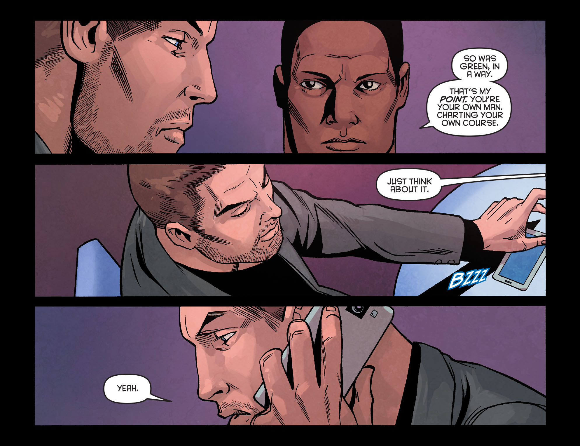 Read online Arrow: Season 2.5 [I] comic -  Issue #24 - 16