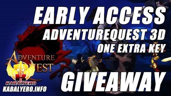 AdventureQuest 3D Early Access Key Giveaway ★ Giving Away One Extra Key