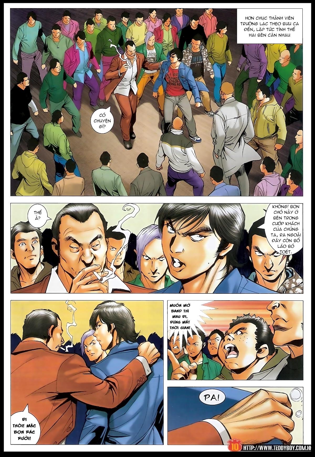 Người Trong Giang Hồ - Chapter 1566: Bốc shit - Pic 9