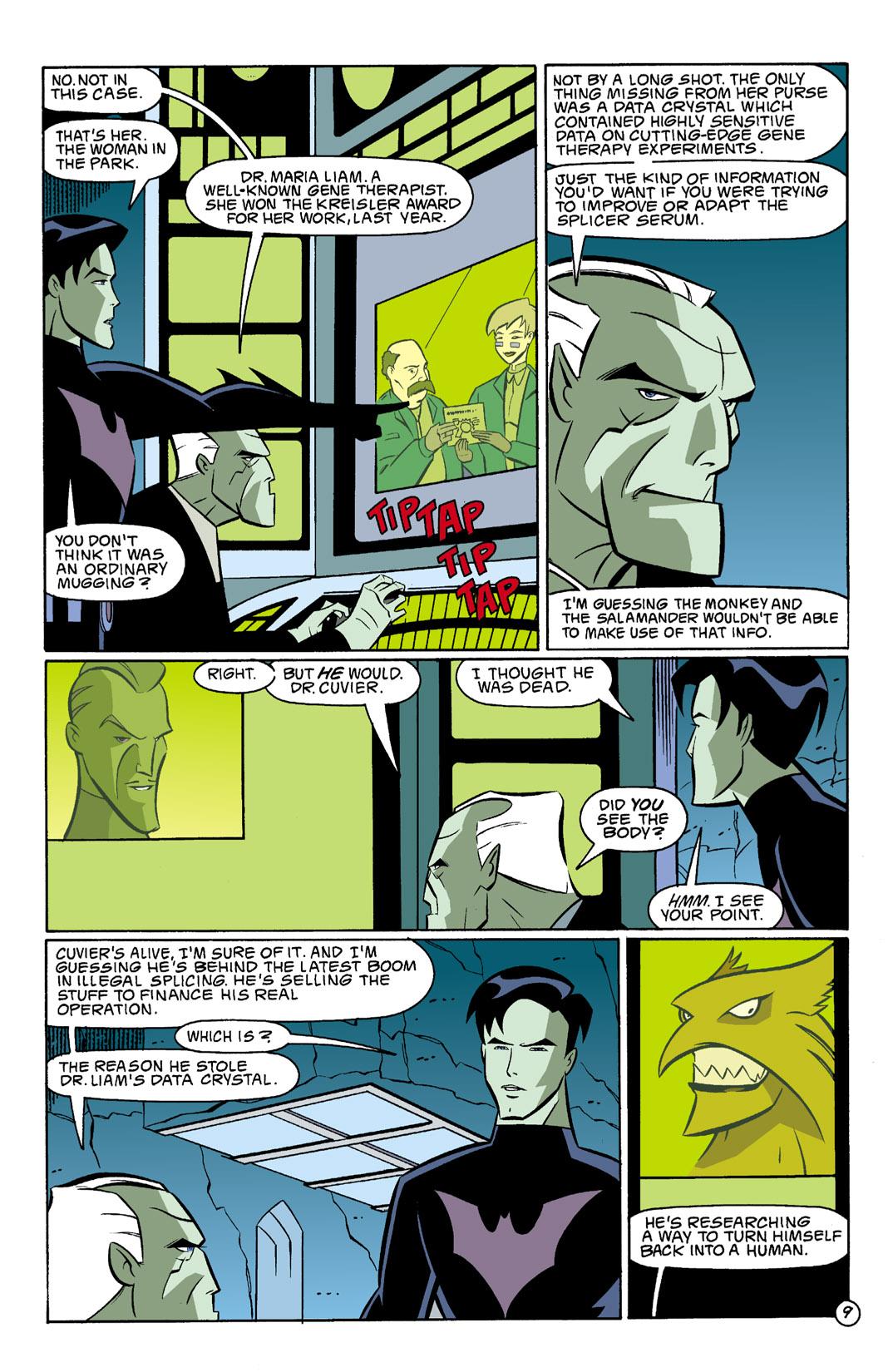 Batman Beyond [II] Issue #3 #3 - English 10