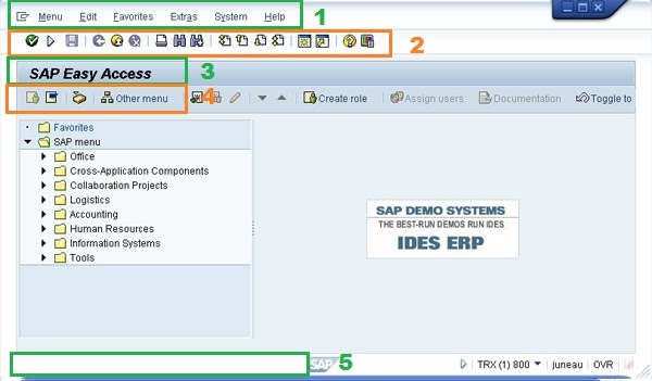 What Is SAP Easy Access Screen