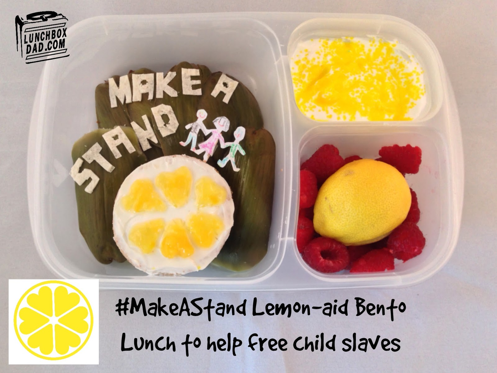 #MakeAStand Bento lunch to help free child slaves