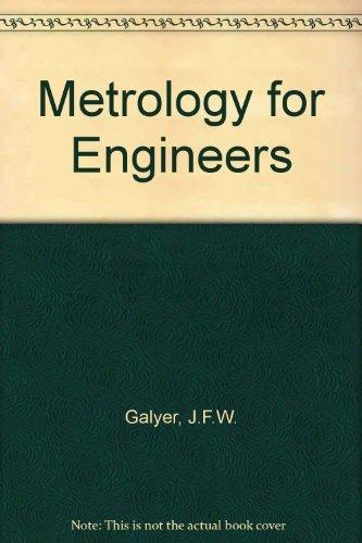 Download Engineering Metrology and Measurement by GALYER Book Pdf