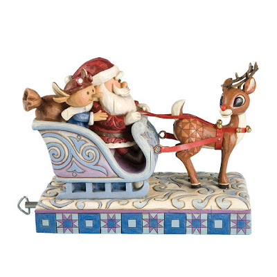 Jim Shore's Rudolph the Red-Nosed Reindeer