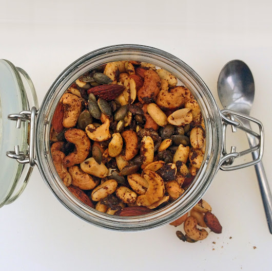 Make your own spiced mixed nuts