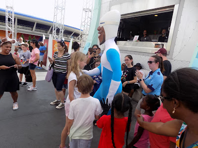 Frozone in Tomorrowland
