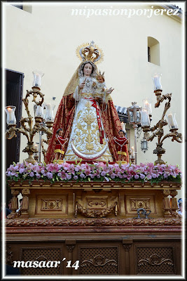 Resultado de imagen de Virgen del Rosario (Patrona de Capataces y Costaleros) | Jerez