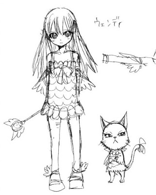 Design awal Wendy Marvell