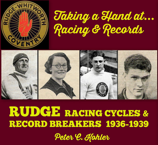 ON THE DROPS Taking A Hand At Racing & Records Rudge Racing