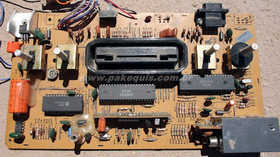 placa do Atari 2600 da Polyvox