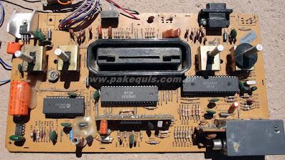 placa do Atari 2600 da Polyvox