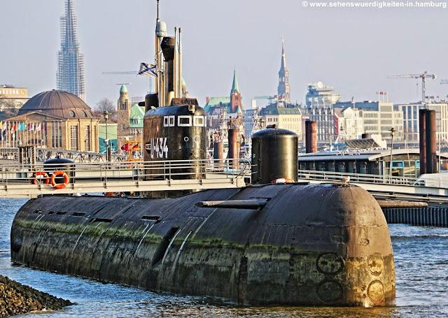 u Boot Hamburg, U-434 Hamburg, UBoot Museum Hamburg