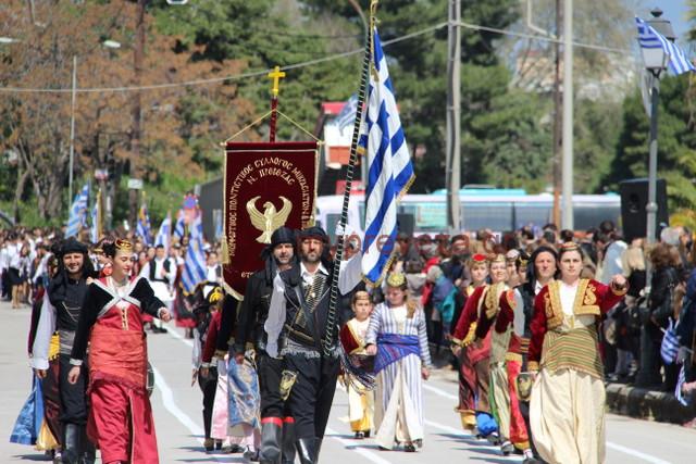 Πρέβεζα: Το πρόγραμμα του Εορτασμού της 25ης Μαρτίου στην Πρέβεζα