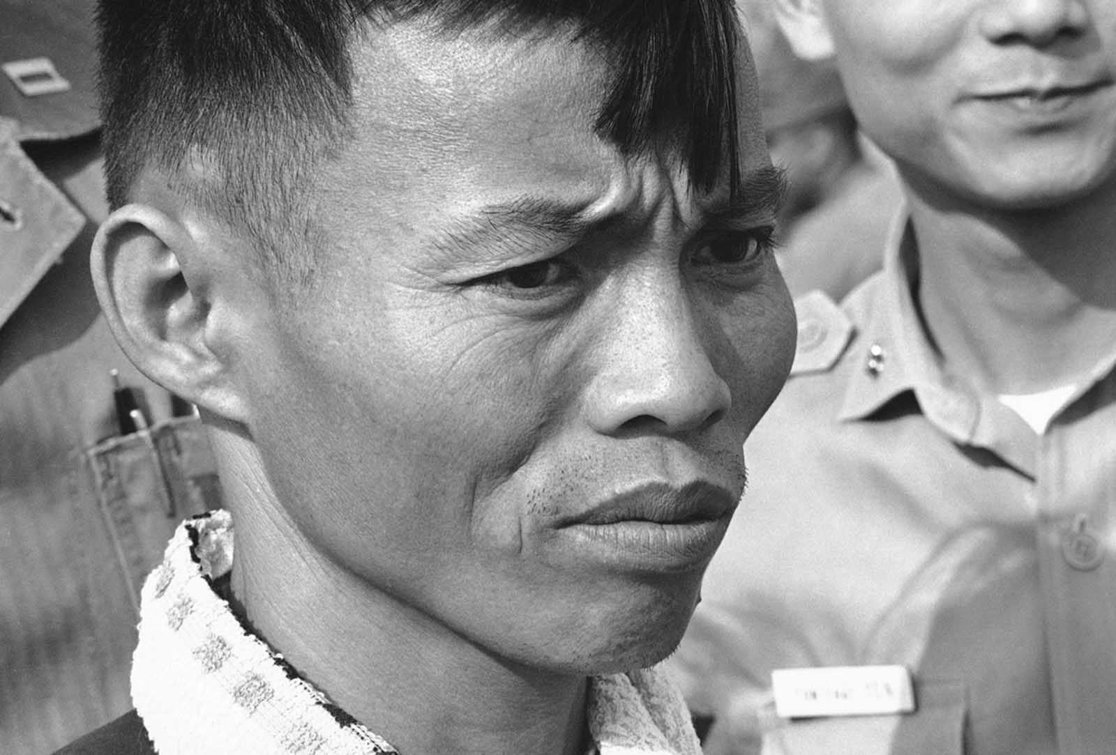 A Viet Cong fighter in Vietnam in an undated photo.