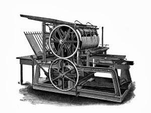 Printing Machine - Johannes Gutenberg