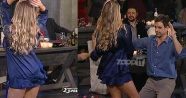 Viral: Ποια καλλoνή φόρεσε το πιο καuτό μiνι της ελληνική τηλεόρασης και χόρεψε σeξι τσιφτετέλι [βίντεο]