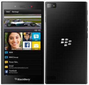 Harga Hp Blackberry Z3 dengan Review dan Spesifikasi Desember 2017