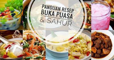 Daftar Lengkap Resep Buka Puasa & Sahur Bulan Puasa Tahun 2018