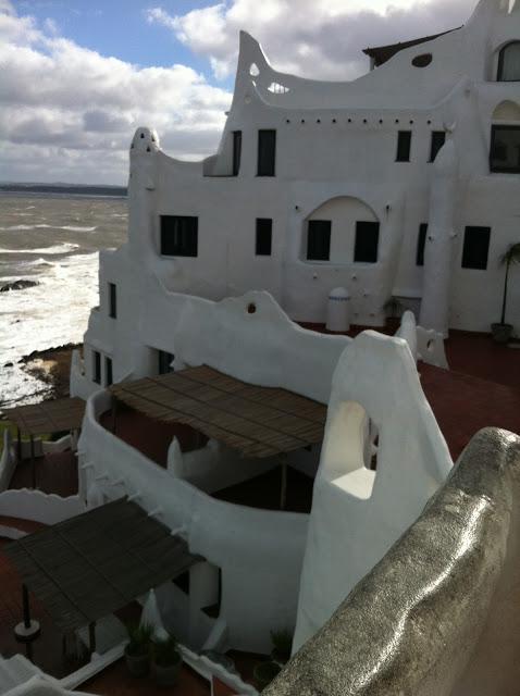Vista do Museo Taller Casapueblo
