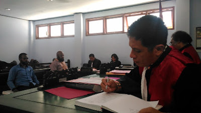Kasus Tolikara, JPU Tuntut 4 Bulan, PH Minta Dibebaskan