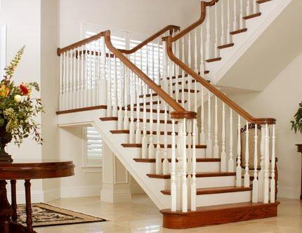Desain ralling tangga