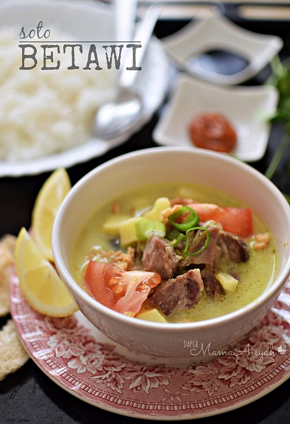 Resep Nikmat Masakan Soto Betawi Simpel Niken S Kitchen