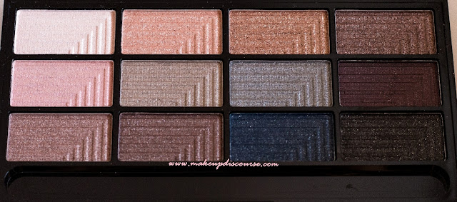 Freedom Makeup London Pro 12 Romance And Jewels Eyeshadow Palette Review, Swatches, Photos and EOTD