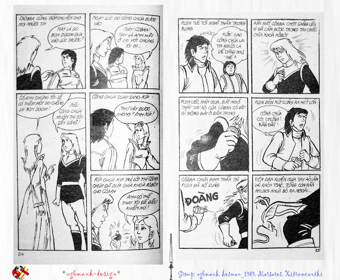 Dũng Sĩ Hesman tập 3 - mãng xà giả dạng trang 13