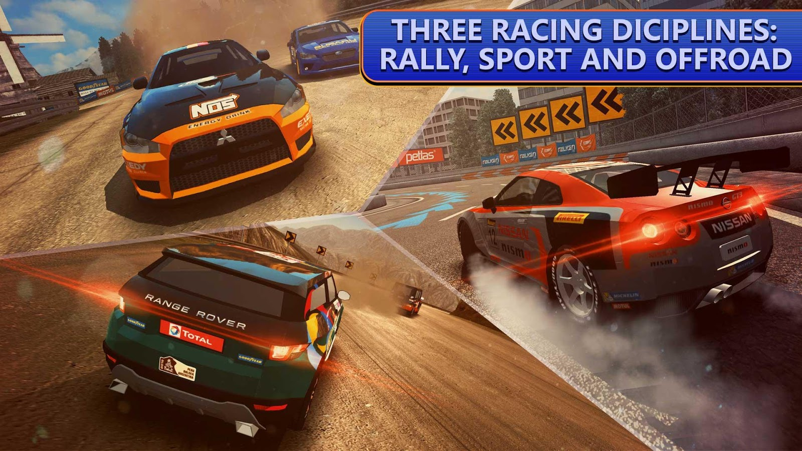 DRIVELINE Rally Asphalt and Off-Road Racing MOD APK