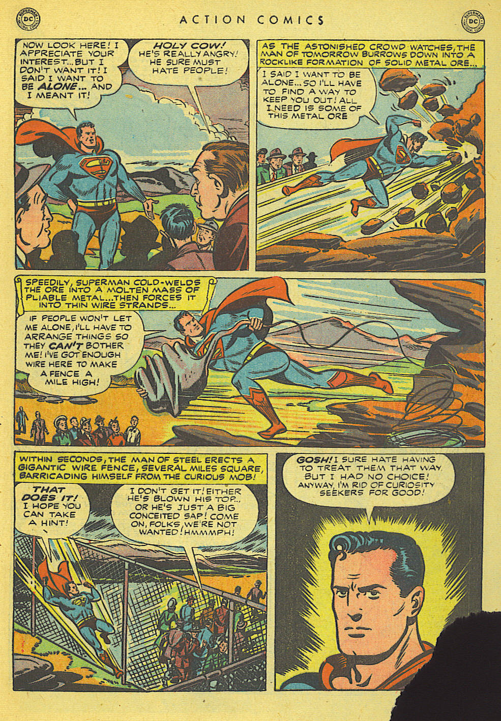 Read online Action Comics (1938) comic -  Issue #140 - 7