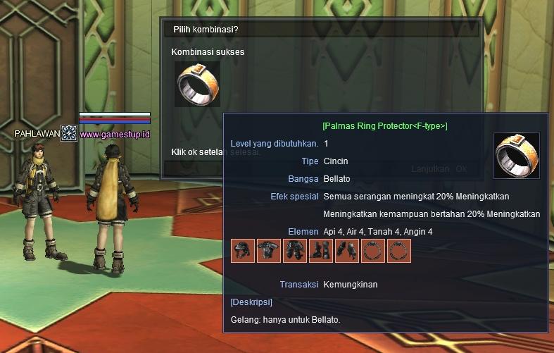 Cara Membuat Leons Elemental - Palmas Daidalos Knightwalker