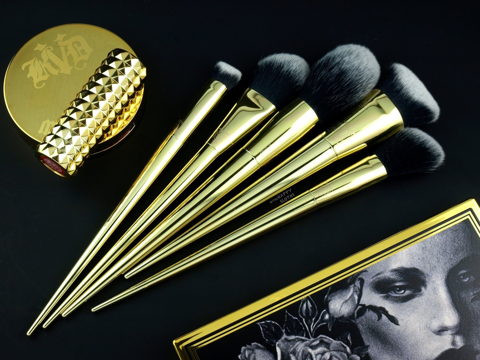 Kat Von D | 10th Anniversary Brush Set: Review and Swatches