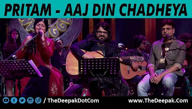 Aaj Din Chadeya - Pritam, Harshdeep Kaur @ MTV Unplugged 5