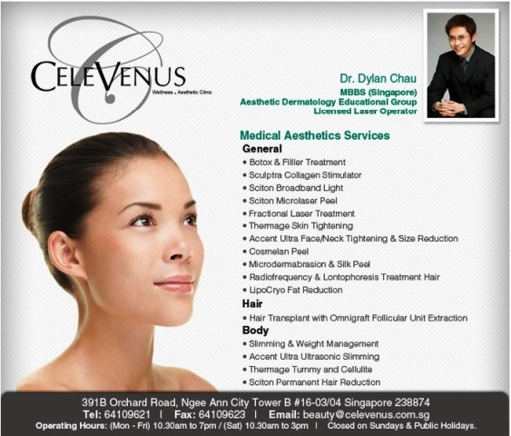 celevenus wellness aesthetic clinic dr dylan chau